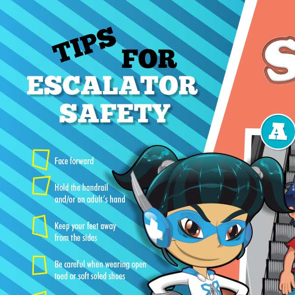 Escalator Activity Sheet