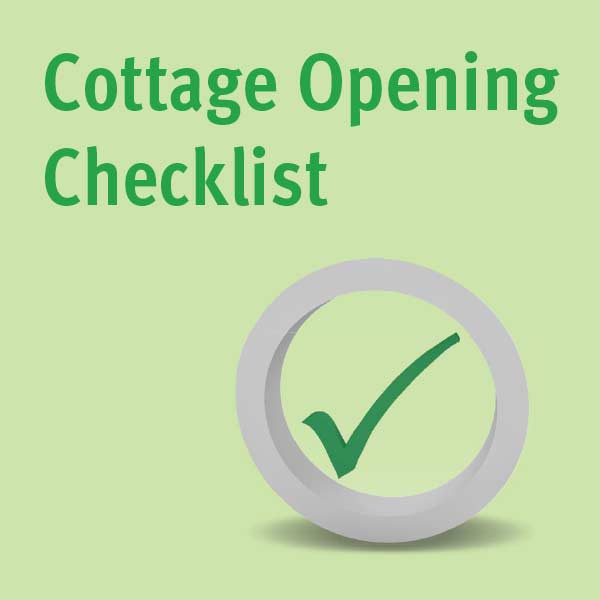 Cottage Check list