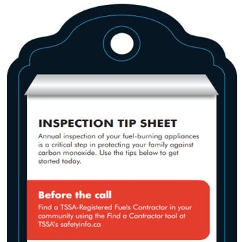 Carbon Monoxide Tip sheet
