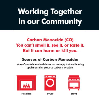 Carbon Monoxide Infographic Sheet