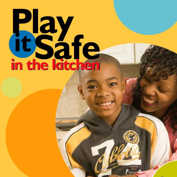 Kitchen Safety Activity Booklet